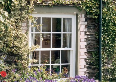 Georgian style sash UPVC window by Force 8
