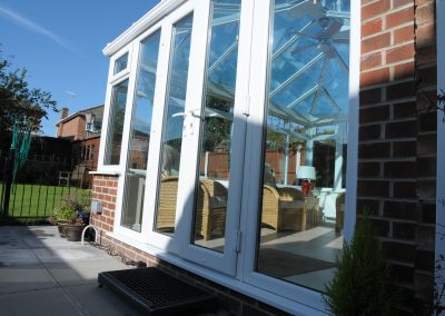 UPVC French Doors On Conservatory By Force 8